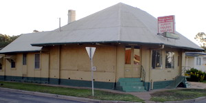 Quong Lee's Store, aka Beryl and Bert's Music Store, 161 Rankin Street, Forbes, NSW, in 2008. Photo by Merrill Findlay.