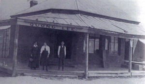 Quong Lee's Grocery Store, 161 Rankin Street, Forbes, NSW, Australia, in the early C20th.